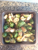 Recipe: Brussels Sprouts, I can't quityou.
